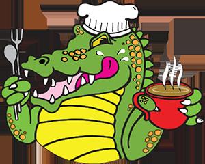 Crocodile Express Cafe Logo