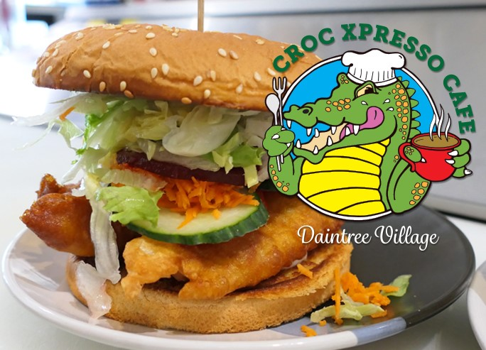 Croc Xpresso Cafe Burger